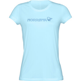 Norrøna /29 Tech T-Shirt Donna, trick blue